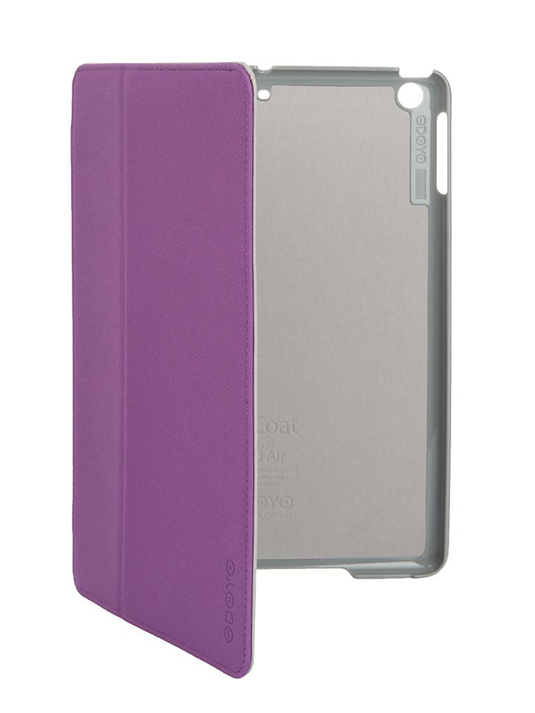 Аксессуар Чехол Odoyo AirCoat Folio Hard Case для iPad Air Orchid Purple PA532PU