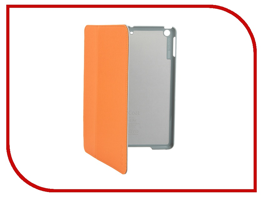 Аксессуар Чехол Odoyo AirCoat Folio Hard Case для iPad Air Vibrant Orange PA532OR