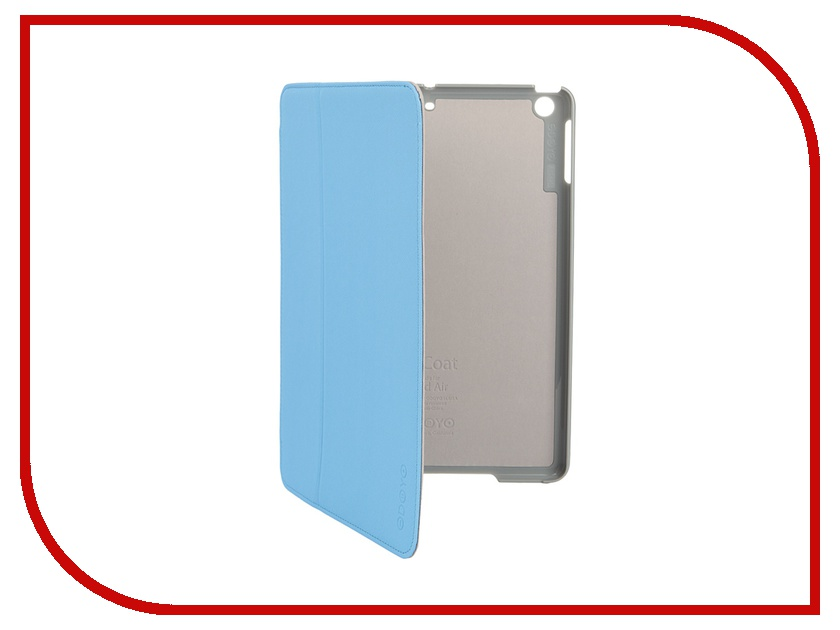 Аксессуар Чехол Odoyo AirCoat Folio Hard Case для iPad Air Sky Blue PA532BL