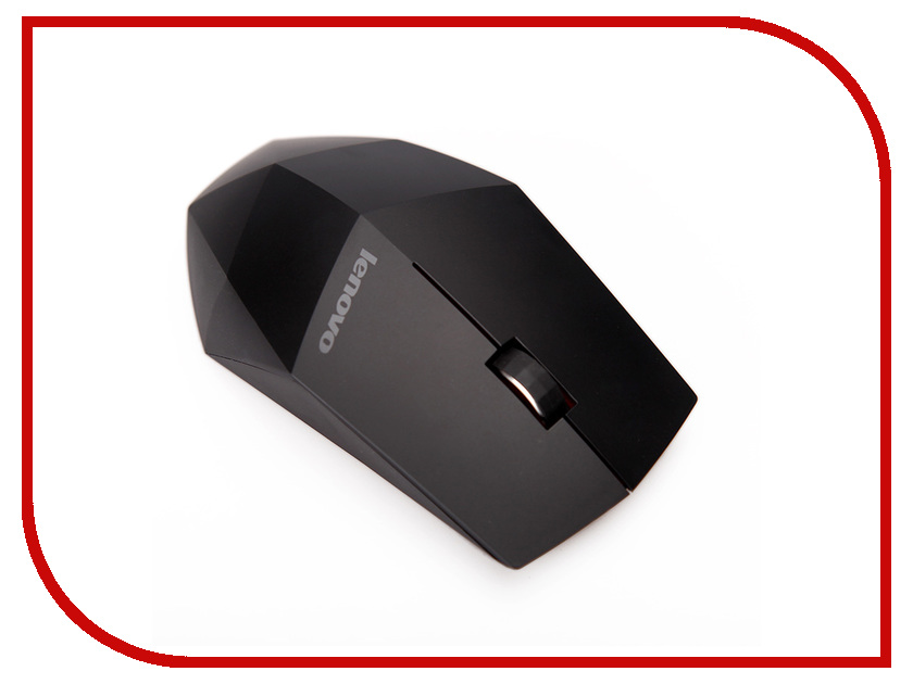 Мышь беспроводная Lenovo Wireless Mouse N50 USB Black 888014322<br>