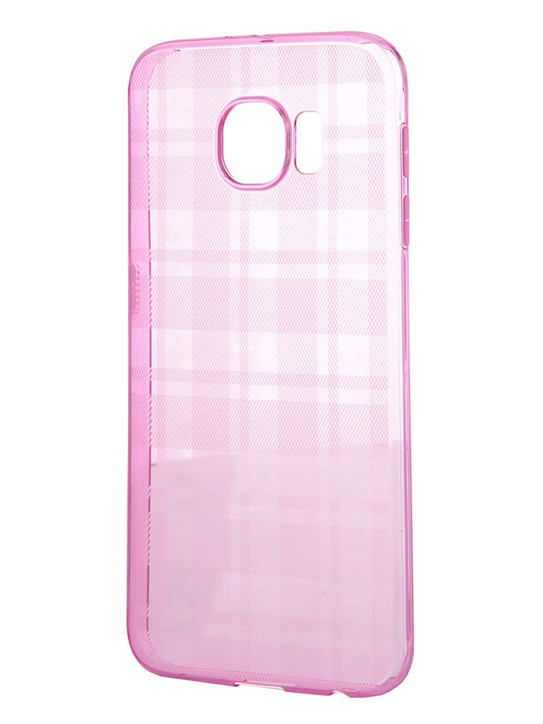 Аксессуар Чехол Samsung Galaxy S6 MOMAX Trendy Soft Case Pink CCSAS6BP<br>