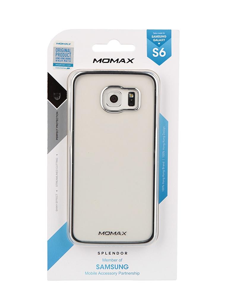 Аксессуар Чехол Samsung Galaxy S6 MOMAX Splendor Case Silver CXSAS6CS<br>