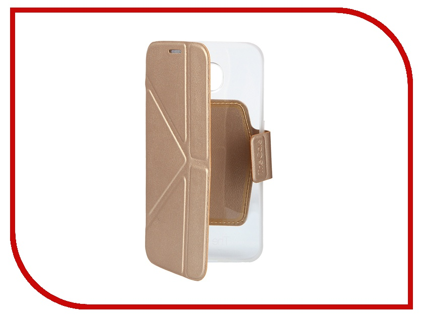 Аксессуар Чехол Samsung G920F Galaxy S6 MOMAX Smart Case GCSAS6L Golden<br>