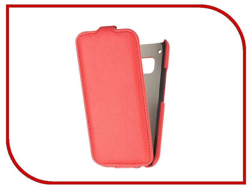 Аксессуар Чехол HTC One M9 Ainy Red<br>