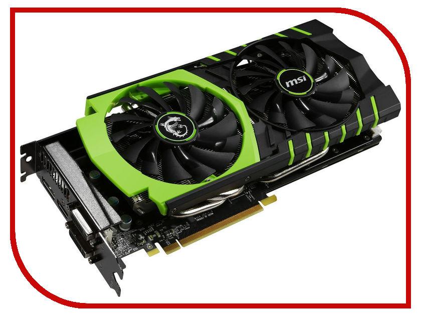Видеокарта MSI GeForce GTX 970 1140Mhz PCI-E 3.0 4096Mb 7010Mhz 256 bit 2xDVI HDMI HDCP 100ME GTX 970 GAMING 100ME V316-26S