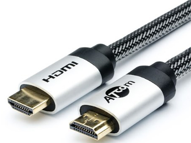 Аксессуар ATcom HDMI 2m Metal Gold АТ15265