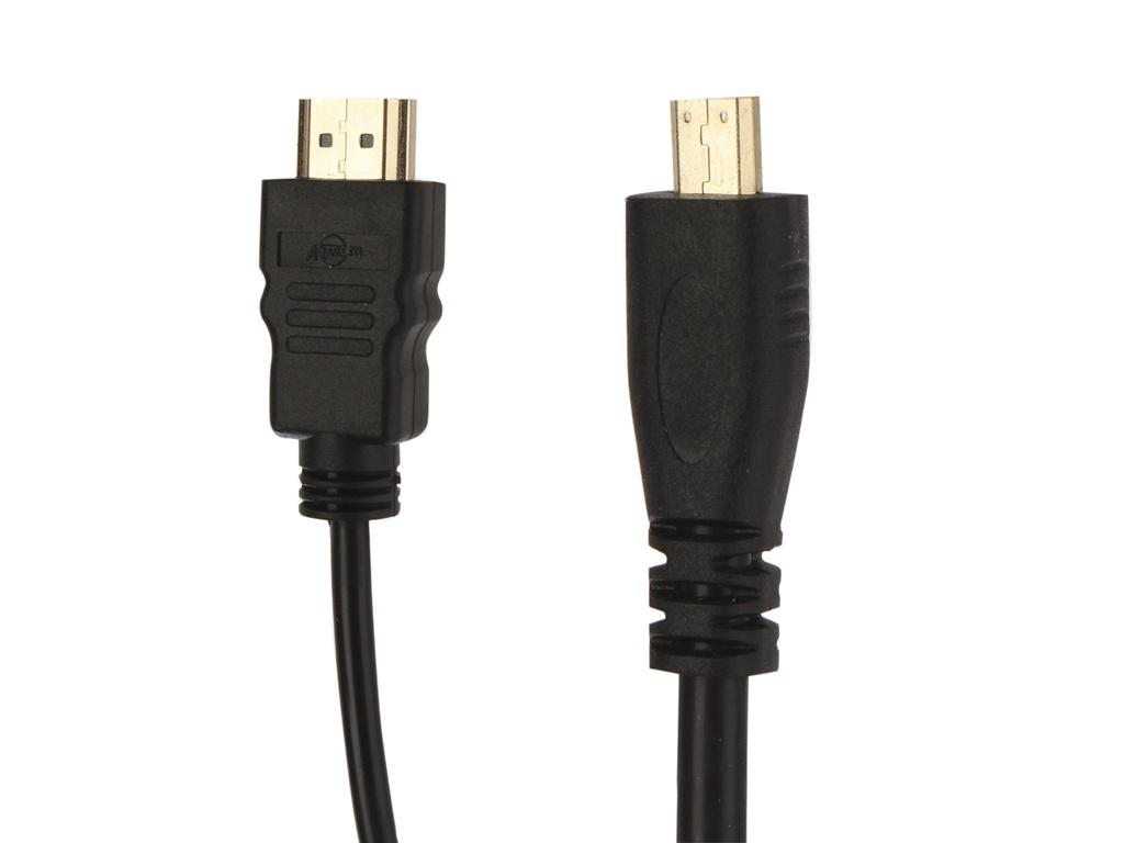 Аксессуар ATcom HDMI A-D micro 2m АТ15268 аксессуар atcom hdmi a c mini 5m ат6155