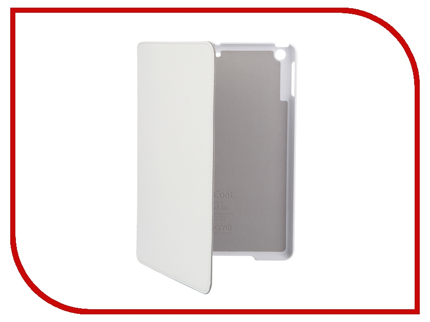 Аксессуар Чехол Odoyo AirCoat Folio Hard Case для iPad Air Ivory White PA532WH odoyo pa542or
