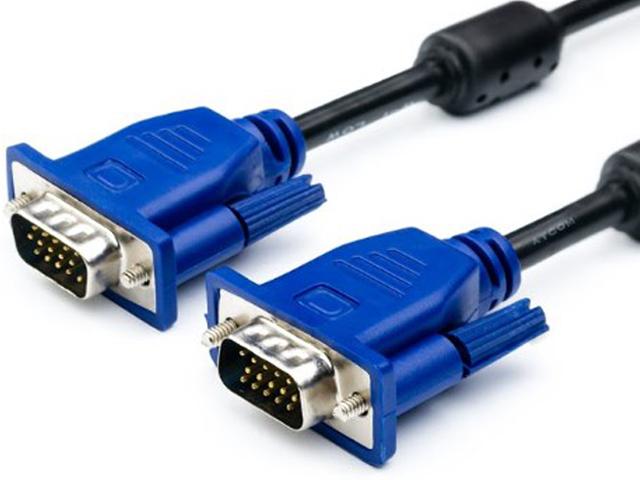 Аксессуар ATcom VGA DE-15Hd 3m Black-Blue АТ15262