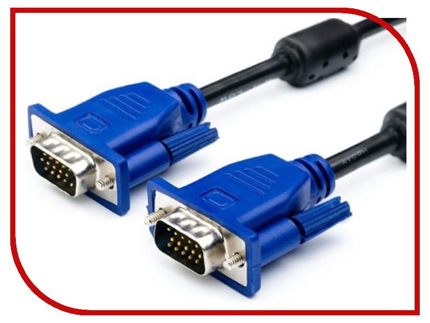 Аксессуар ATcom VGA DE-15Hd 20m Black-Blue АТ10701<br>