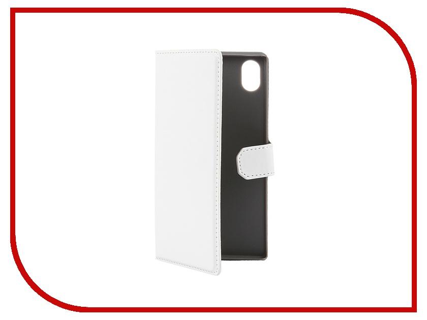 ��������� �����-������ Sony Xperia M4 Aqua Muvit MFX Slim S Folio White SESLI0141