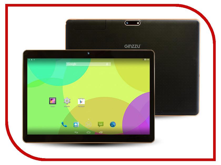 Планшет Ginzzu GT-X870 Black MediaTek MT8382 1.3 GHz/1024Mb/8Gb/3G/Wi-Fi/Bluetooth/Cam/9.6/1280x800/Android