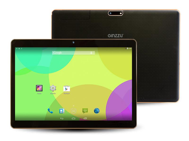 Планшет Ginzzu GT-X870 Black MediaTek MT8382 1.3 GHz/1024Mb/8Gb/3G/Wi-Fi/Bluetooth/Cam/9.6/1280x800/Android<br>