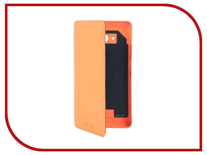 Аксессуар Чехол-книжка Nokia Lumia 640 Orange CC-3089<br>