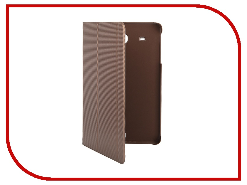 Аксессуар Чехол-обложка Samsung Galaxy Tab E 9.6 Book Cover Brown EF-BT560BAEGRU<br>