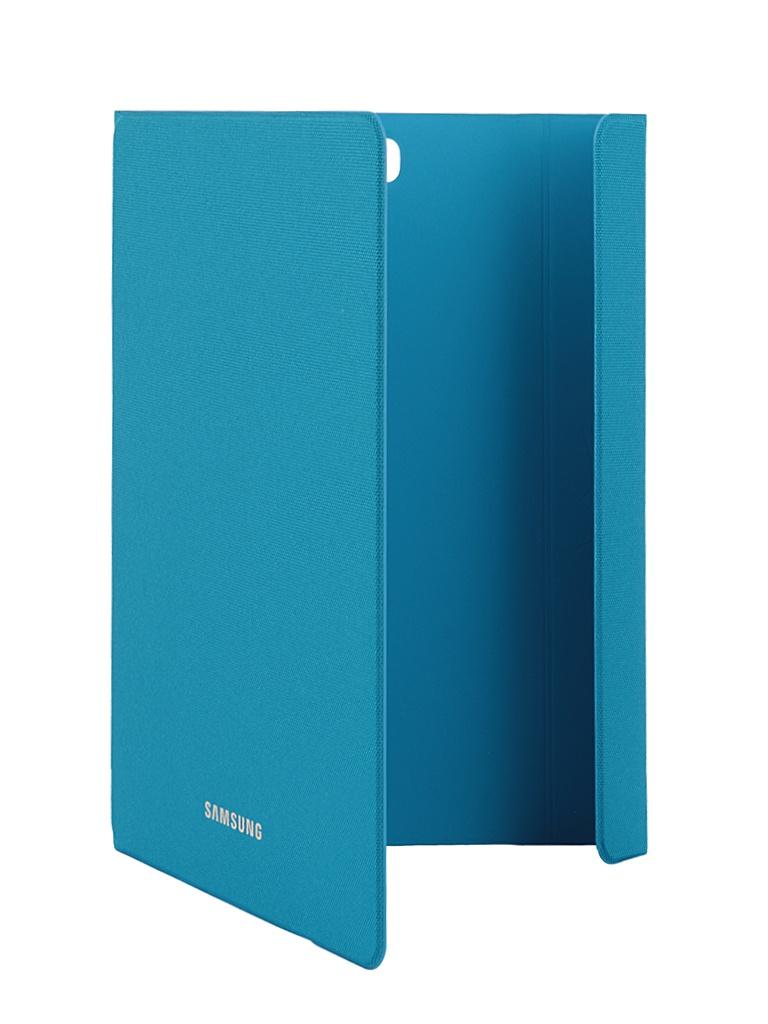 Аксессуар Чехол-обложка Samsung Galaxy Tab A 9.7 Book Cover Fabric Blue EF-BT550BLEGRU