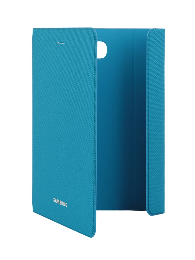 Аксессуар Чехол-обложка Samsung Galaxy Tab A 8.0 Book Cover Fabric Blue EF-BT350BLEGRU