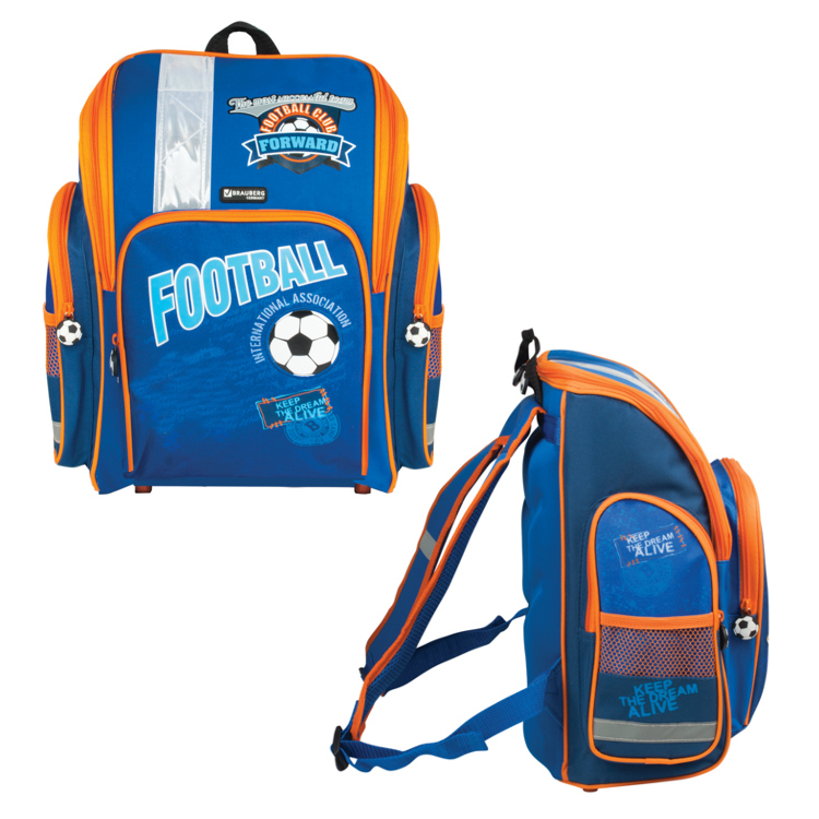 Рюкзак BRAUBERG Football 223647 от Pleer