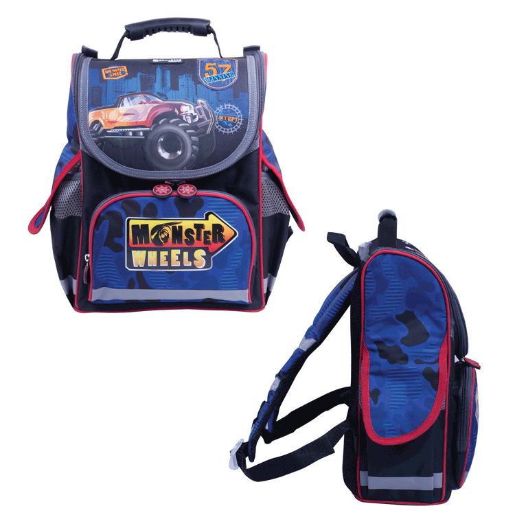 Рюкзак BRAUBERG Monster Wheels 224214 от Pleer