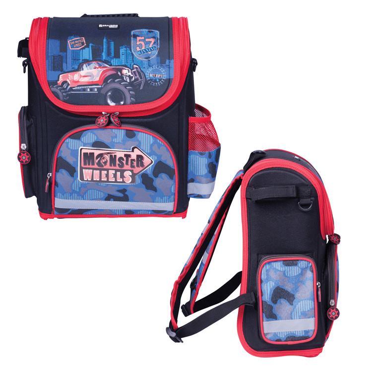 Рюкзак BRAUBERG Monster Wheels 224160 от Pleer