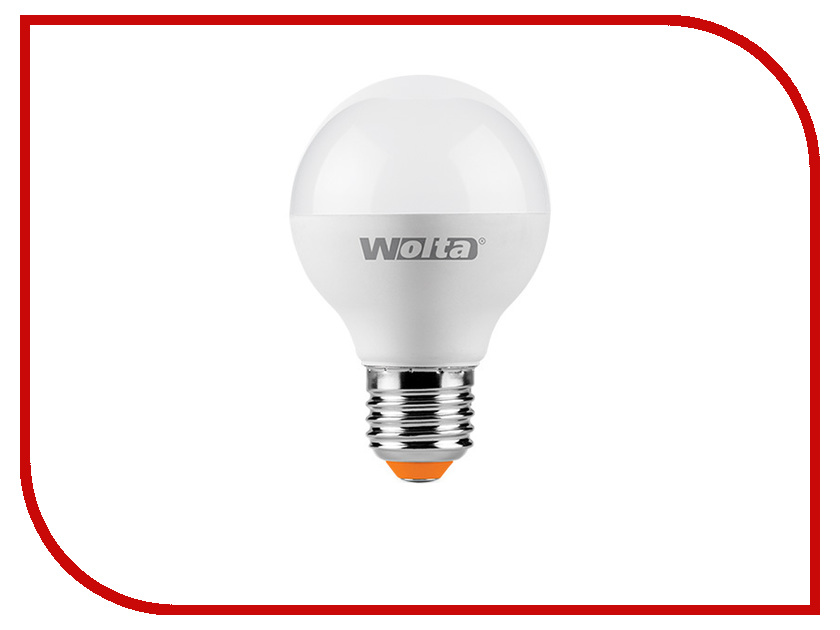 Лампочка Wolta LED-GL45/6W/4000K/E27 25S45GL6E27<br>