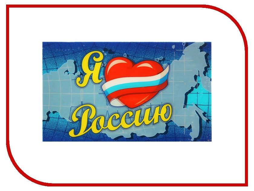 Коврик на торпедо СИМА-ЛЕНД Я Люблю Россию