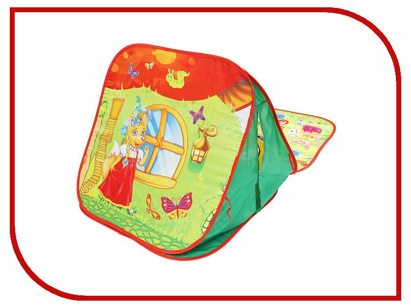 Игрушка Палатка СИМА-ЛЕНД Терем-теремок 1043844 кабошон родонит 8 мм