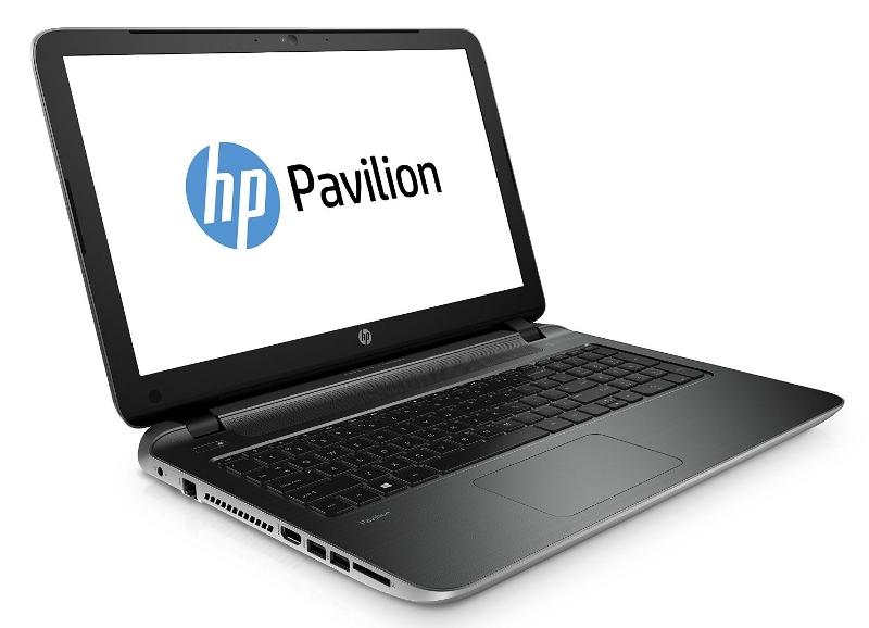 Ноутбук HP Pavilion 15-p256ur Natural Silver L1T17EA Intel Core i5-5200U 2.2 GHz/4096Mb/500Gb/DVD/nVidia GeForce 840M 4096Mb/Wi-Fi/Bluetooth/Cam/15.6/1920x1080/Windows 8.1 64-bit<br>