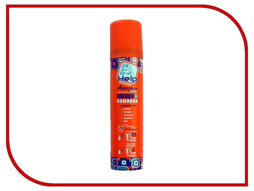 Средство защиты от комаров Boyscout Help 80221 - аэрозоль от клещей и комаров 75 мл
