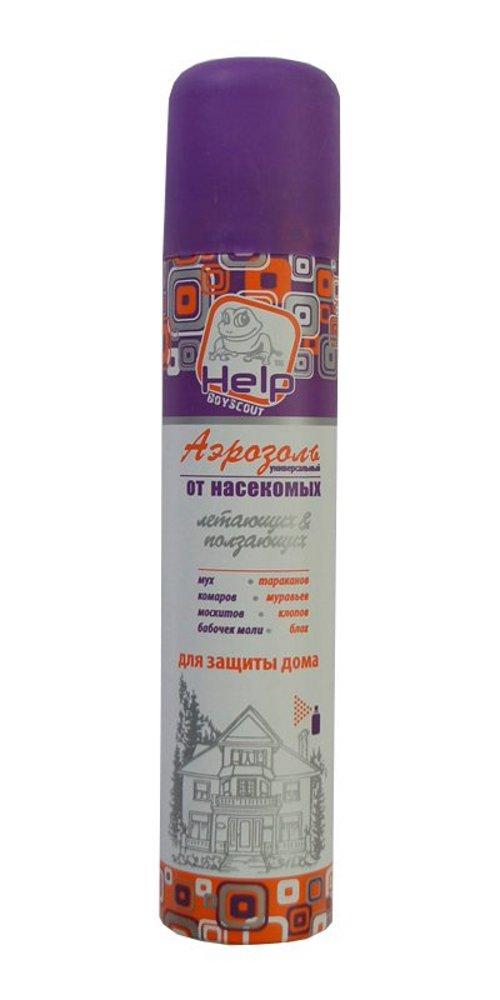 Средство защиты от комаров Boyscout Help 80222 - аэрозоль универсальный 200ml
