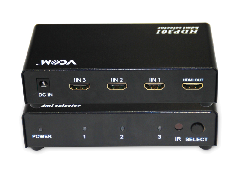 Сплиттер VCOM HDMI Switch 3x1 VDS8030/DD433