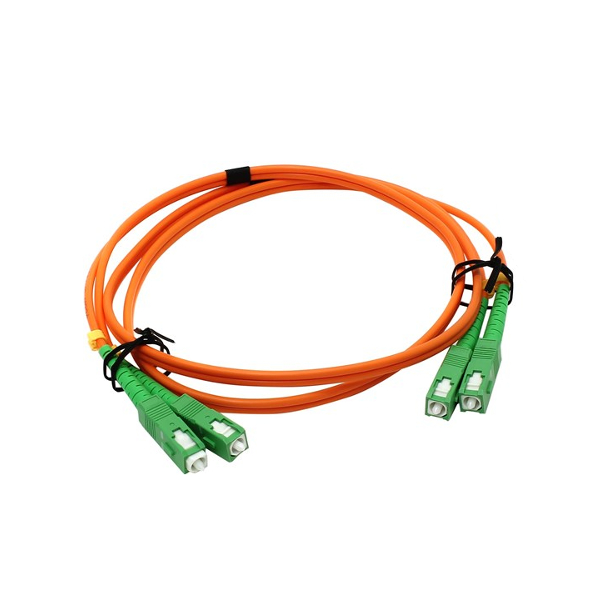Аксессуар VCOM Optical Patch Cord SC-SC Duplex 1m VDA202-1M<br>