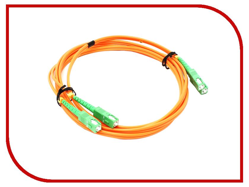 Аксессуар VCOM Optical Patch Cord SC-SC Duplex 2m VDA202-2M