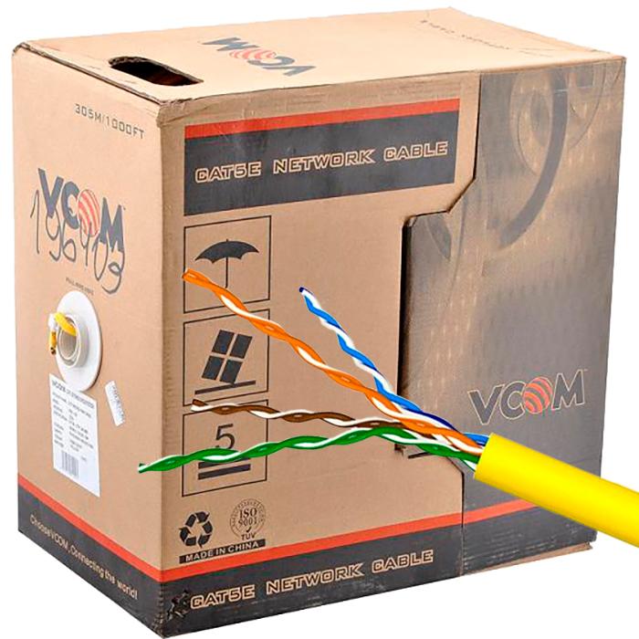 Сетевой кабель VCOM UTP CAT5e