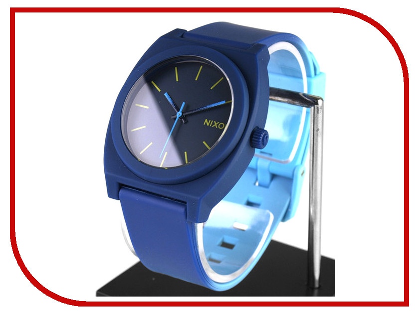 Часы наручные аналоговые Nixon Time Teller P Navy / Sky Blue Fade A119<br>