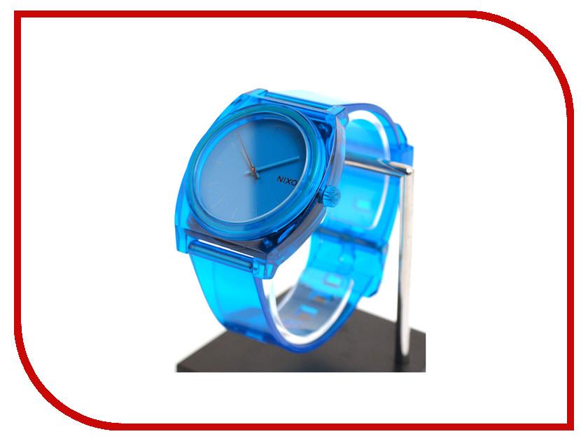 Часы наручные аналоговые Nixon Time Teller P Translucent Blue
