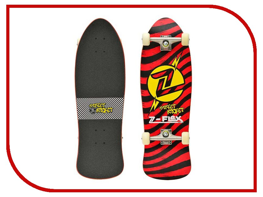 Скейт Z-Flex Street Rocket SS15 Red
