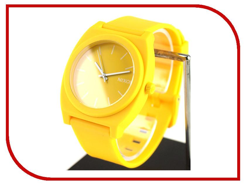 Часы наручные аналоговые Nixon Time Teller P Matte Yellow