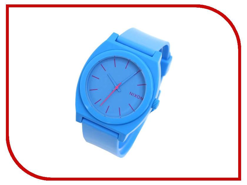 Часы наручные аналоговые Nixon Time Teller P Bright Blue