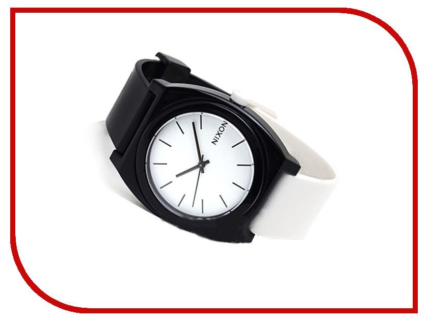 Часы наручные аналоговые Nixon Time Teller P Black-White