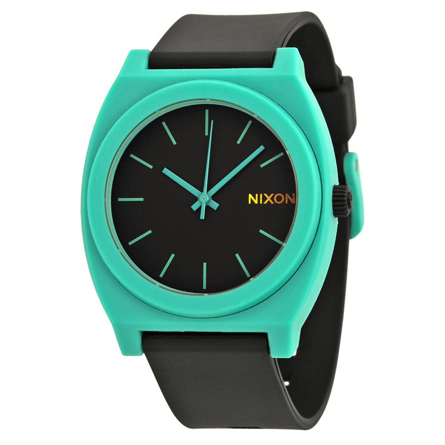 Часы Nixon Time Teller P Black Teal цена