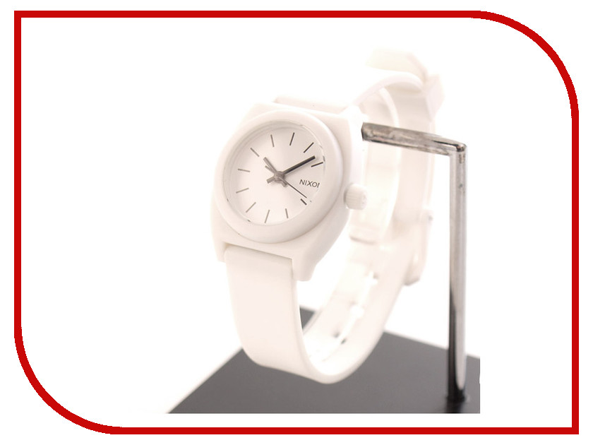 Часы Nixon Small Time Teller P White