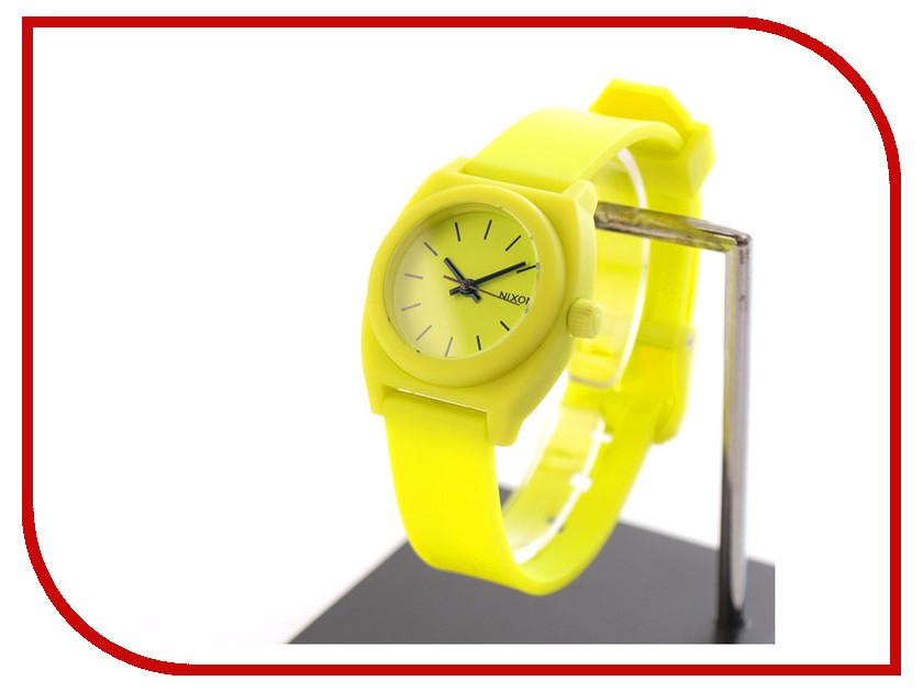 Часы наручные аналоговые Nixon Small Time Teller P Lime<br>