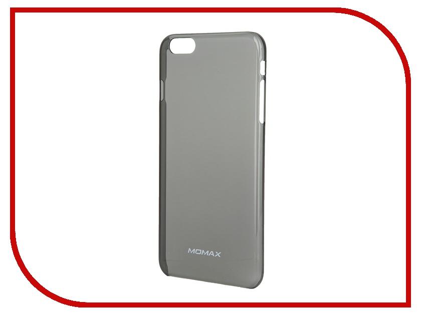 Аксессуар Чехол MOMAX Clear Breeze для iPhone 6 Plus Black<br>