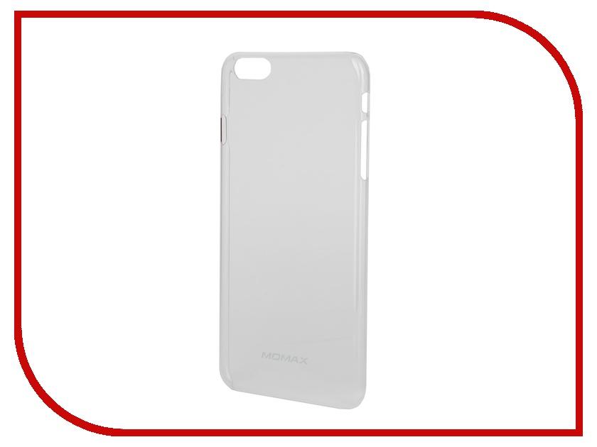 Аксессуар Чехол MOMAX Clear Breeze для iPhone 6 Plus White<br>