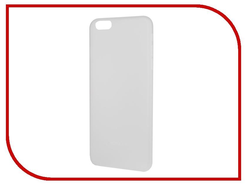 Аксессуар Чехол-накладка MOMAX Membrane 0.3mm для iPhone 6 Plus White<br>