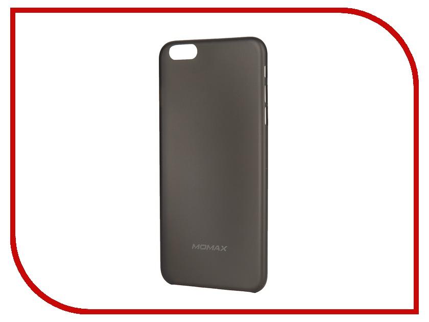 Аксессуар Чехол-накладка MOMAX Membrane 0.3mm для iPhone 6 Plus Black<br>