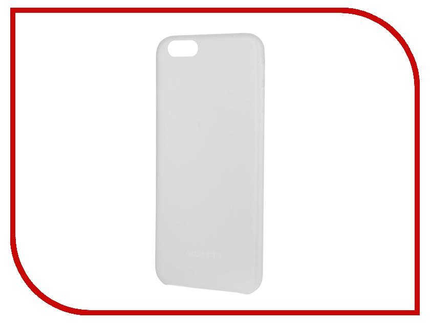 Аксессуар Чехол-накладка MOMAX Membrane 0.3mm для iPhone 6 (4.7) White<br>
