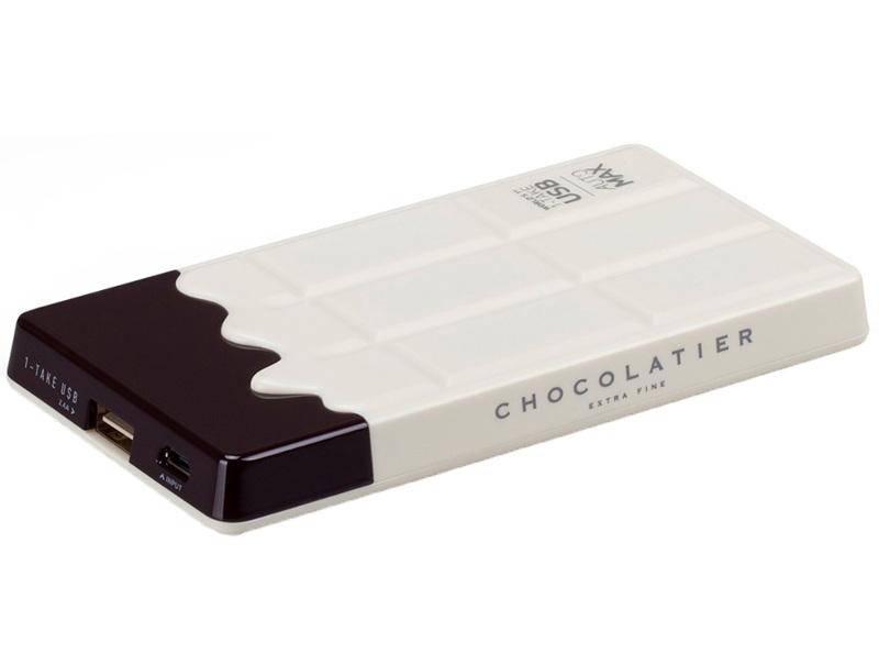 Аккумулятор MOMAX iPower Chocolatier 7000 mAh IP37 White