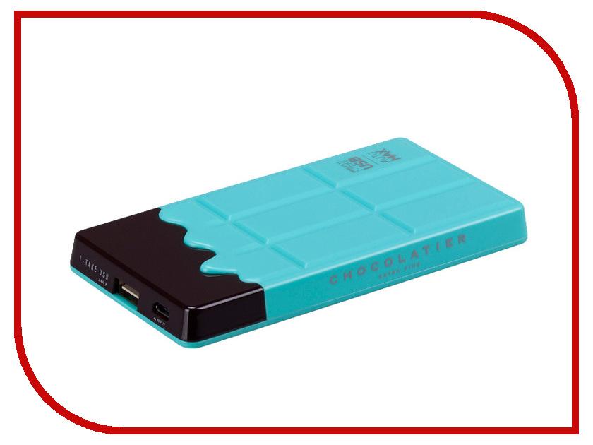 Аккумулятор MOMAX iPower Chocolatier 7000 mAh Turquoise<br>